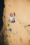 Climbing in Taghia, Morocco ©Marc_Daviet_Mountain Hardwear
