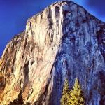 El Cap, looking like a painting