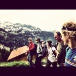 My favorite crew.... Jérôme Blanc-Gras, Manu Guy, Tim Emmett, Bertrand Delapierre. Fond memories