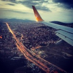 Flying above Istanbul