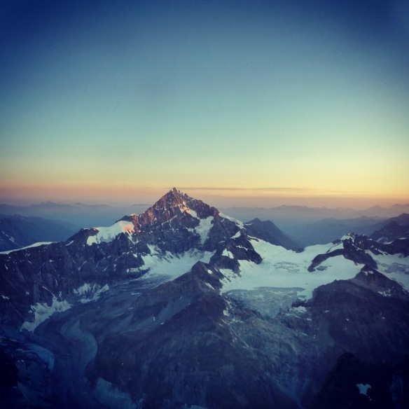 Sunrise on the Dent Blanche