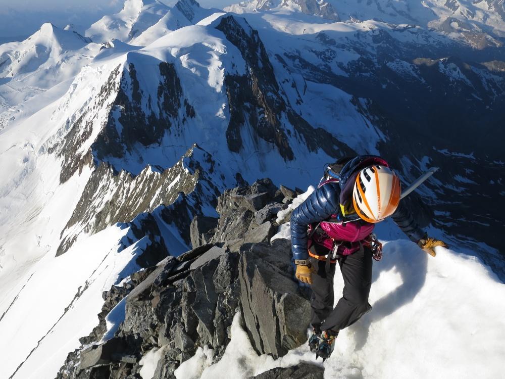 Nice ridge we followed ;)
