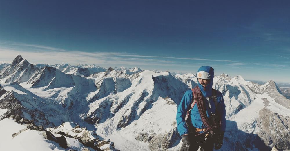 Nils au sommet avec un tour d'horizon époustouflant.