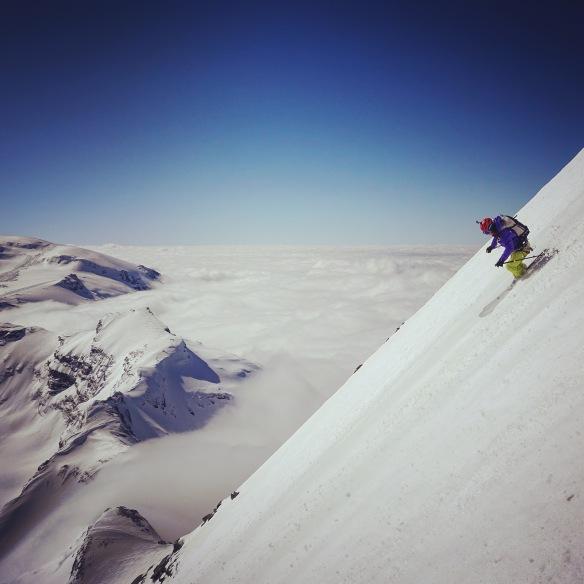 Giulia solide sur les skis c'est y mettre le style ©Lorraine Huber